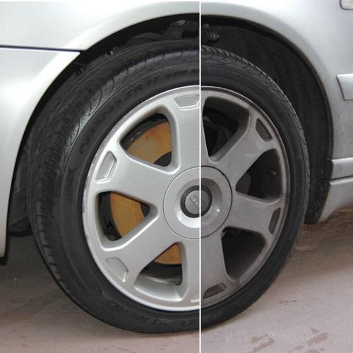 طریقه شستشوی رینگ خودرو در کارواش