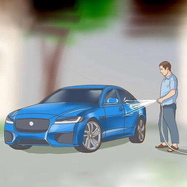 شستشوی دستی خودرو بدون رفتن به کارواش