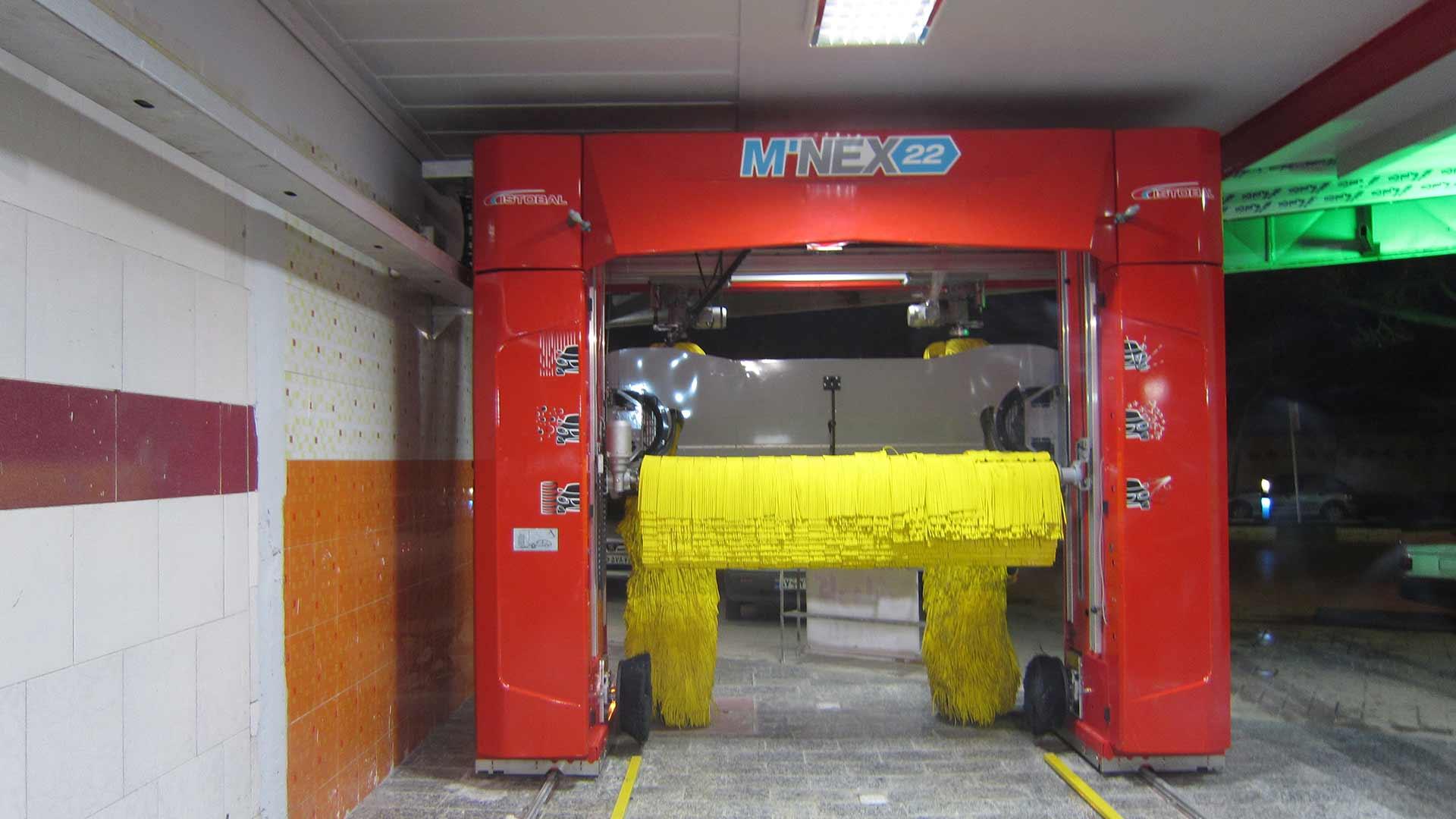 mnex22 کارواش اتوماتیک مشهد