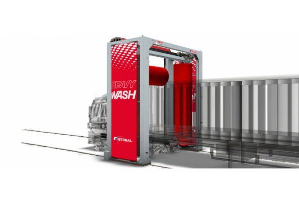 کارواش دروازه ای ماشین سنگین Heavy wash progress