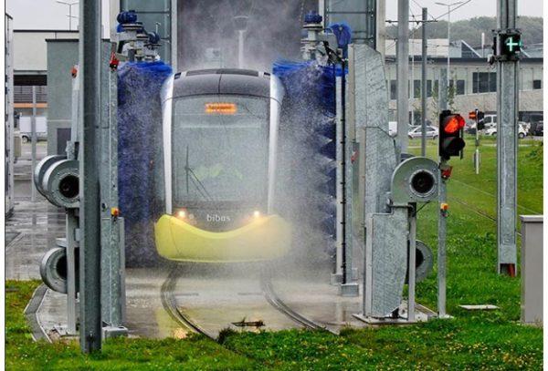 کارواش قطار شوی HEAVYWASH Train Through