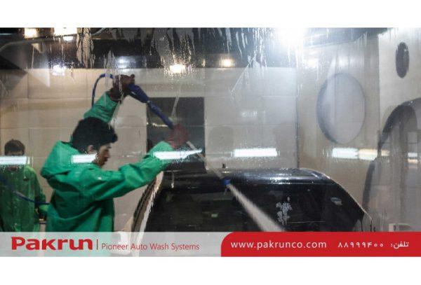 ست تجهیزات پاشش آب پر فشار برای شستن ماشین